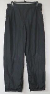 Nike Black Sweat Pants Women's Size Medium M (8-10) Black Pockets Draw String