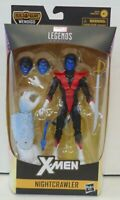 Marvel Legends NEW Nightcrawler  BAF Wendigo Wave Action Figure X Men, X-Men