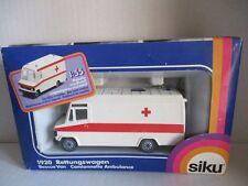 SIKU 1920 Rettungswagen Krankenwagen 80er Jahre OVP
