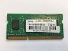 EUDAR 1GB RAM DDR3 1033 SO-DIMM PC3-10600 Arbeitsspeicher