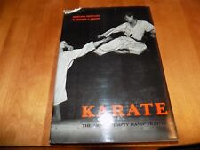 KARATE Art of Empty Hand Fighting Martial Arts Instruction Techniques Guide Book