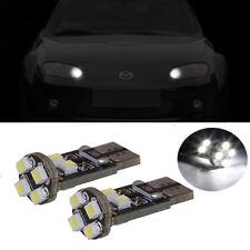 2 ampoules à LED blanc veilleuses / feux de position pour Mazda MX-5 NA NB NC