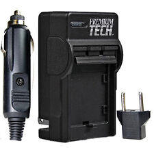 Premium Tech EN-EL9 Rapid Battery Charger for Nikon D40, D40X, D60 (PT-18)