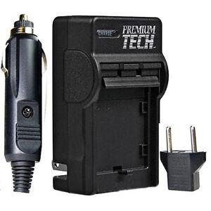 Premium Tech EN-EL9 Rapid Battery Charger for Nikon D40, D40X, D60 (PT-18)