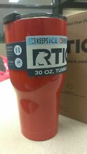 Metallic Red 30oz RTIC Tumbler