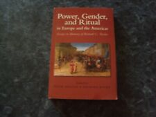 livre POWER, GENDER, AND RITUAL in Europe and the Americas  (en anglais)