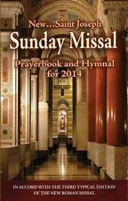 St. Joseph Sunday Missal: For 2014, B C L, 1937913694, Book, Good