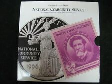 1996 National Community Service Coin and Stamp Set