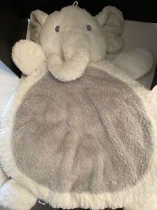 """Bestever Baby Mat by Mary Meyer Gray Elephant Soft Plush floor blanket 32"""""""