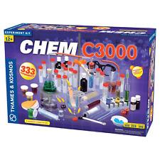 THAMES AND KOSMOS 640132 CHEM C3000 TOTAL CHEMISTRY SET***-POPULAR***