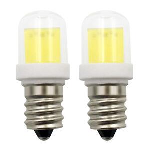 E12 Candelabra Base LED Bulb C7 Lamp AC DC 12V 4W COB 1511 Ceramics Glass Light