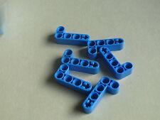 Lego 6 bras levier bleus set 42042 9446 8264 42049 42004 / 6 blue liftarm 2-4 L