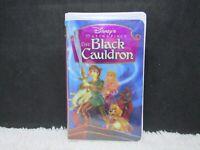 1998 The Black Cauldron, Disney's Masterpiece, Clamshell Case, VHS Tape
