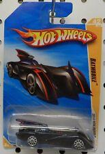 042 42 2010 RED  BATMOBILE BATMAN MOVIE COMIC DC HW HOT WHEELS