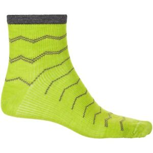 New Men`s Sockwell Plantar Ease Socks Merino Wool, 1/4Crew Graduated Compression