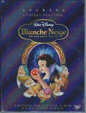 Dvd BLANCHE NEIGE (2 DVD + 1 LIVRE) Neuf sous blister ***