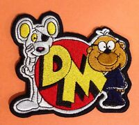 DANGER MOUSE & PENFOLD XL 4 INCH 💥 Sew Iron Patch 80's Costume  Cartoon Hero