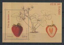 F4535 - FEUILLE DE TIMBRES NEUFS - Fête du timbre - Fraisier Rubis // 2011