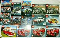 Large Selection Of Lego Instruction Manuals Creator, Technic, City - No Lego.