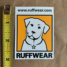 "Ruffwear sticker decal, genuine, original, 2.5"" x 2"", NEW"