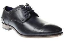 Bugatti Herren-Business-Schuhe aus Echtleder ohne Muster