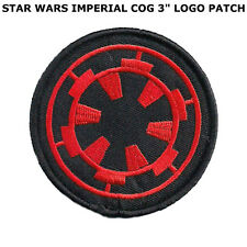 Star wars Logo Patch Embroidered Iron on Imperial Storm Trooper Emblem Badge 1