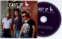 EAST 17 Can't Get You Off My Mind (Crazy) UK 2-trk promo CD radio mixes