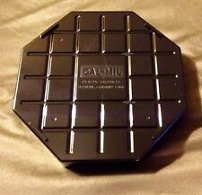 "New-Sealed / 2-Pack Cal-Mil 308-6-13 Black Octagon 6"" Drip Tray"