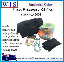 7pcs ATV Accessory Recovery Electric Winch Kit 4x4 4WD,Winch Accessory Kit-45996