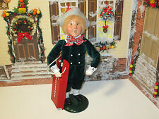 Byers Choice Exclusive Christmas Dove Boy with Sled