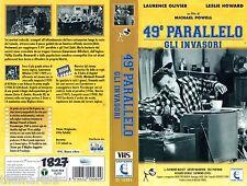 49° Parallelo  Gli Invasori  (1941) VHS Lanterna Video   B/N  L. Olivier