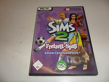 PC  Die Sims 2: Freizeit Spaß