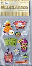 Scrapbook Chipboard Stickers Halloween Party   B21*