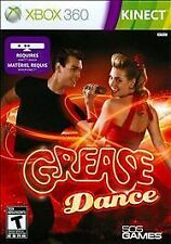 Video Game 360 Grease Dance Requires Kinect NEW SEALED