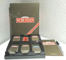 1986 A Question of SCRUPLES 2nd Edition moral dilemma GAME Milton Bradley MB