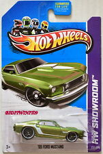 HOT WHEELS 2013 MUSCLE MANIA - HW SHOWROOM '69 FORD MUSTANG GREEN