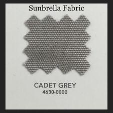 """Sunbrella Fabric 46"""" Wide Cadet Grey #4630 1 Yard"""