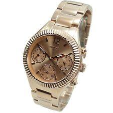 Guess Women's Watch Multifunction W0323L3 Riviera Rose Gold : Watch New