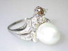 Diamanten Ringe im Cluster-Stil aus Weißgold mit Baguette-Schliffform