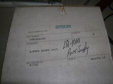 EPSON LQ1000 LQ-1000 Printer Power Supply Y451212100 G/EMPS Board Cord & Switch