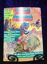 He Man and Masters of the Universe Magazine, Winter 1988 with Giftwrap & She-Ra!