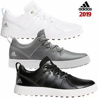 Adidas 2019 Junior Adicross PPF Kids Leather Spikeless Golf Shoes Trainers