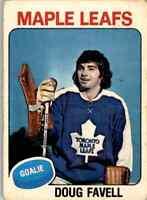 1975-76 O-Pee-Chee Doug Favell #381