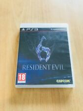 Resident Evil 6 Playstation 3 PS3 comme neuf