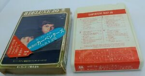 Stereo 8 Track Tape Cartridge Carpenters Best 20 by Carpenters 1972