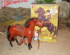 BIG JIM CHEVAL-TORNADO + neuf dans sa boîte! BARBIE HORSE + box/Cavallo/cheval ouragan