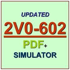 Vmware vSphere 6.5 Foundations VCP6.5-DCV Exam 2V0-602 Test QA PDF+Simulator