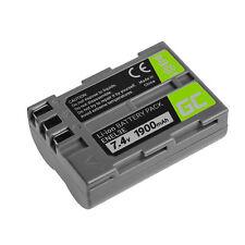 Batterie EN-EL3 EN-EL3e pour Nikon DSLR D50 D70 D90 D100 D300 D700 D900 1900mAh