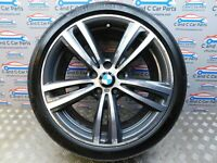 "BMW 3 4 Series Rear Alloy Style 442 M 19"" 8.5J Continental Tyre 6mm 7846781 *66"