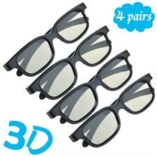 4-Pairs-Passive-3D-Glasses-with-Polarized-Plastic-Lenses-for-LG-3D-TV-AG-F310  4